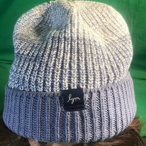 Love Your Melon Slouch Knitted Hat - Light Blue